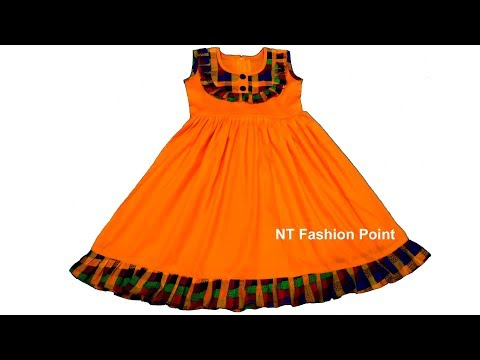 0c0833070a07c Kids summer A-line dress for girls baby cutting & stitching ...