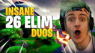 Ninja Clutches This 26 Elim Duos Match!!