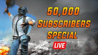 50,000 Subscribers Special Live || Fun talk with Subscribers