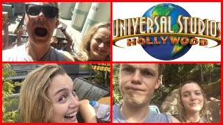 GETTING WET WITH MADDIE AT UNIVERSAL STUDIOS HOLLYWOOD