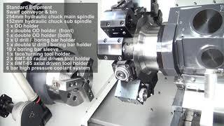 SMEC SL2500BSY CNC Y Axis Lathe