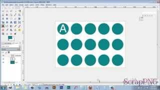 How To Use My Free Bottle Cap Template   A Gimp Tutorial