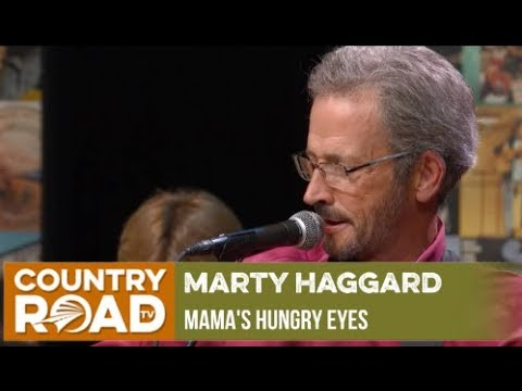 "Marty Haggard sings ""Mama's Hungry Eyes"" on Country's Family Reunion"