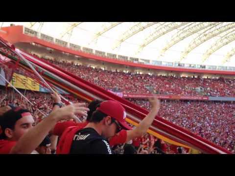 """GUARDA POPULAR - SÓ TE PEÇO ESTE CAMPEONATO FINAL GAUCHÃO 2017"" Barra: Guarda Popular • Club: Internacional"
