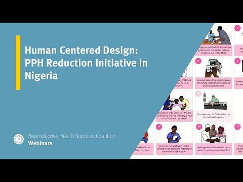 Human Centered Design: PPH Reduction Initiative in Nigeria