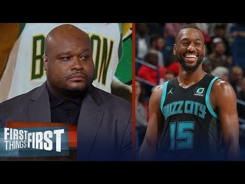 Antoine Walker believes the Celtics are better with Kemba over Kyrie | NBA | FIRST THINGS FIRST