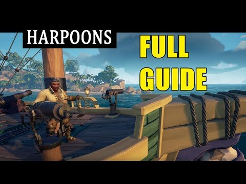 Sea of Thieves Harpoons Full Guide