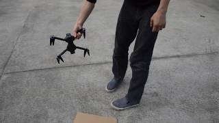 How to start fly SJRC F11 Brushless Unfoldable GPS Follow me RC Quadcopter Drone
