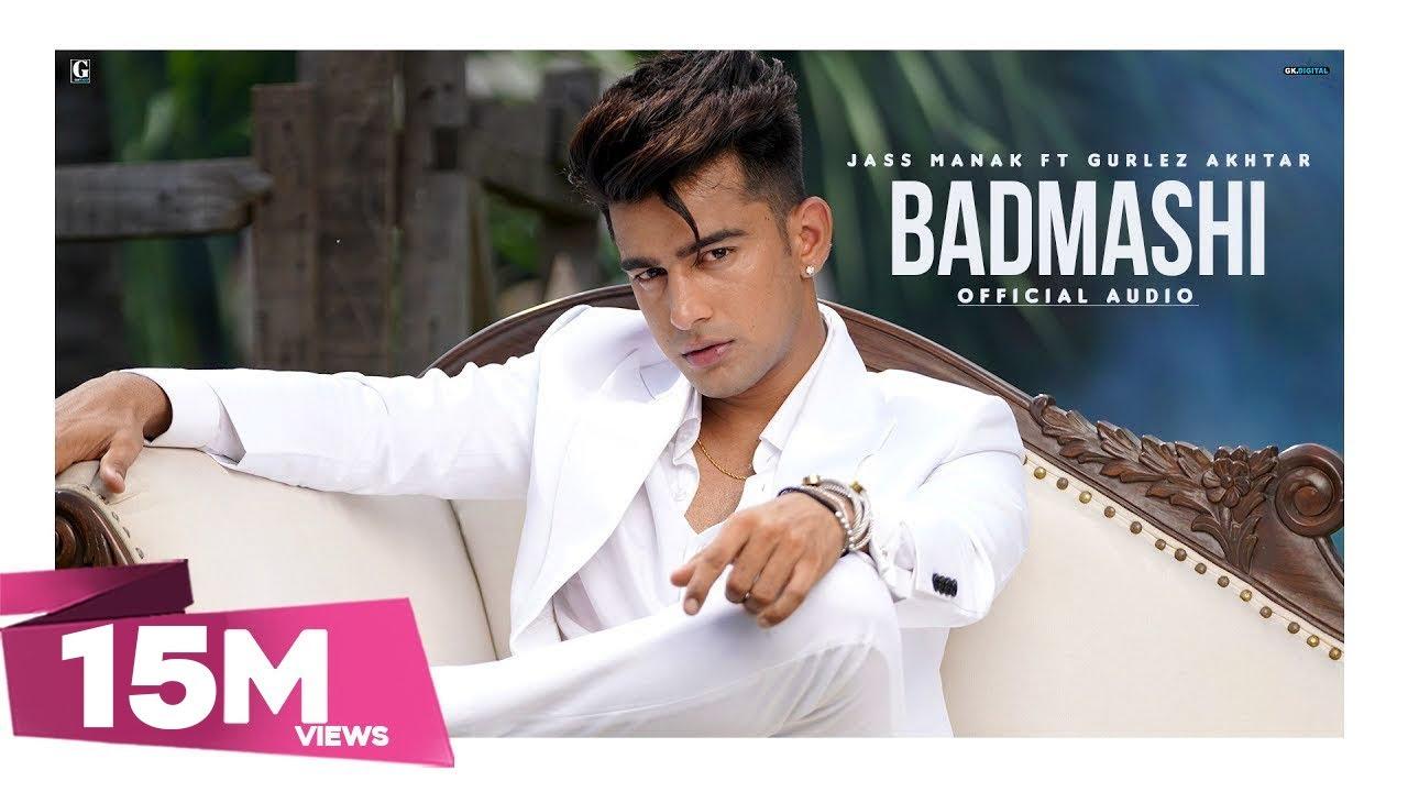 Badmashi | Jass Manak, Gurlez Akhtar Lyrics