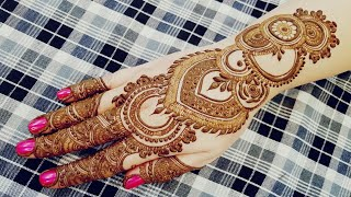 Wedding Special Mehndi Design For Hand 1 Most Popular Videos