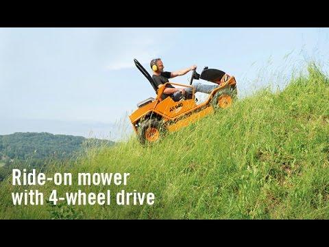 AS Motor Gressklipper 940 Sherpa 4WD XL - film på YouTube