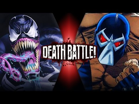 Venom VS Bane (Marvel vs DC) | DEATH BATTLE!