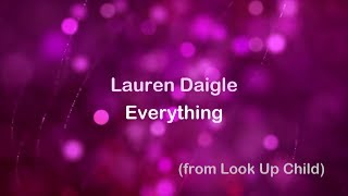 Everything - Lauren Daigle [lyrics]