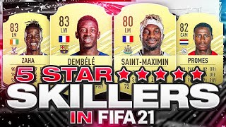 ALL NEW AND CONFIRMED FIFA 21 5 STAR SKILLERS! FIFA 21 Ultimate Team