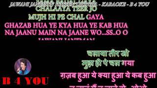 Jawani Janeman Haseen Dilruba - Karaoke With Scrolling