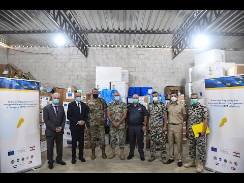 PPEs Handover to Lebanese Border and Security Agencies