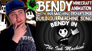 """""""Build Our Machine""""   Bendy And The Ink Machine Music Video (Song by DAGames)   Reaction"""