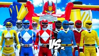 POWER RANGERS VS MIGHTY MORPHIN POWER RANGERS