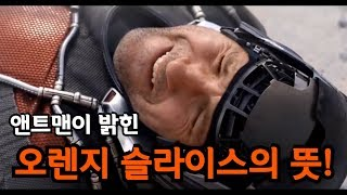 [자막] 앤트맨이 직접 설명하는 오렌지 슬라이스 뜻!! (별거아님 주의)