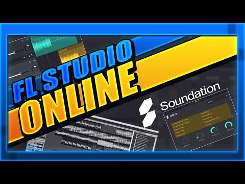 FL STUDIO ONLINE   SOUNDATION STUDIO EL FL STUDIO EN LINEA