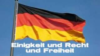 Deutsche Nationalhymne - National Anthem of Germany [lyrics subtitles]