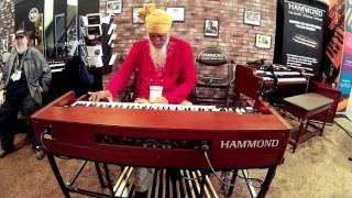 Hammond XK5  Dr <b>Lonnie Smith</b>  2016 Summer NAMM / Nashville
