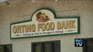 Orting Food Bank - new expanded location is an old funeral home