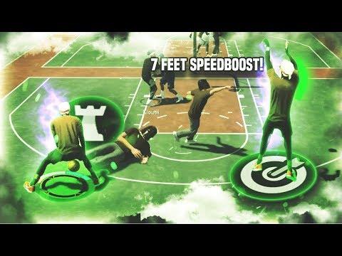 The ONLY SPEEDBOOSTING STRETCH BIG in NBA2K19...