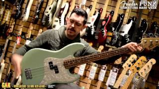Fender - Mark Hoppus Jazz Bass Demo at GAK!