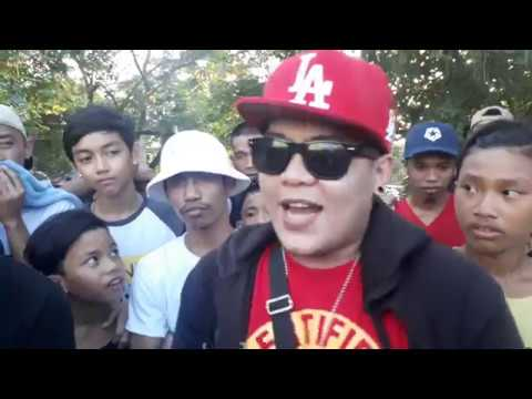 Laglagan Rap Battle League - Rusty J Vs Lil Weng ( Freesyle Battle )