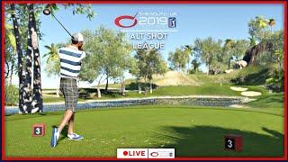 The Golf Club 2019 Alt Shot League - Match #5 LIVE | PS4 Pro Gameplay