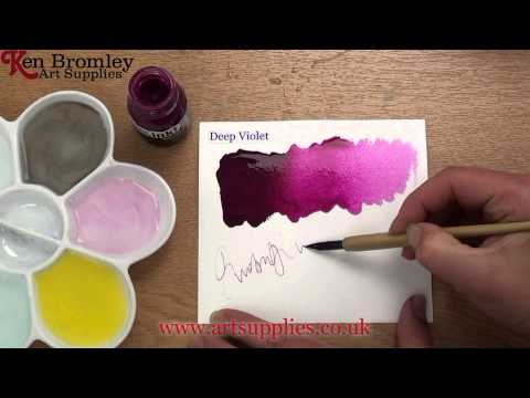 Liquitex Professional Acrylic ink! Deep Violet 115