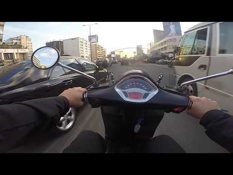 2015 Vespa 300 GTS Super Sport unboxing and first ride