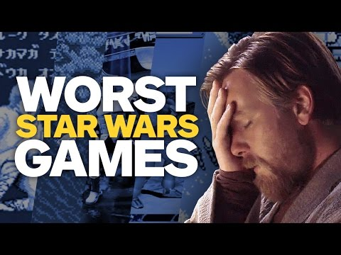 Top 10 Worst Star Wars Games Ever Made