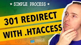 301 Redirect Using .HTAccess - Redirect A Website Page   WP Learning Lab