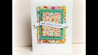 6x6 Pattern Paper Card