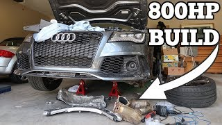 Here's Everything that is STILL Broken On My Salvage Audi RS7