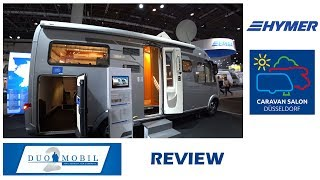 Автодом Hymer DuoMobil B DL. Caravan Salon Dusseldorf 2018.