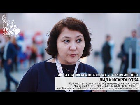 Лида Исаргакова на форуме «Сообщество» в Уфе