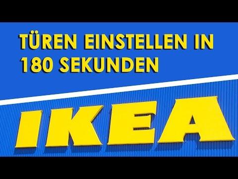 IKEA BESTA - Türen einstellen