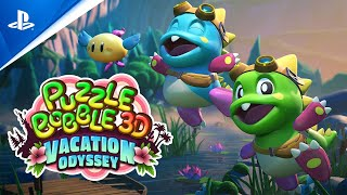 PlayStation Puzzle Bobble 3D: Vacation Odyssey - Release Date Announcement Trailer | PS5, PS4, PS VR anuncio