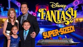 DISNEY CRUISE SUPER-SIZED MOVIE!!! Disney Fantasy Cruise Week Complete Adventure!