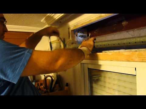 Cómo reparar una persiana con la cinta rota, paso a paso. [Aprende a Reparar]