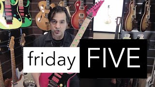 Friday FIVE (May 19, 2017) - Cosmo Music