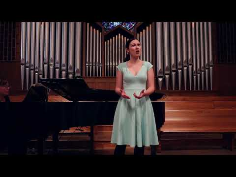 Alleluia, a French Art Song by Cecile Chaminade