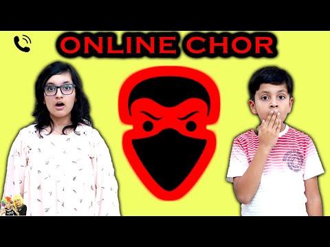 ONLINE CHOR | Hindi Moral story for kids | Good Habits | Aayu and Pihu Show