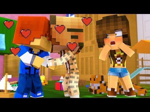 Minecraft Daycare - RYGUYROCKY AND TINA DATING !?