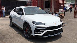 ¡Llega la primer Lamborghini Urus a México!