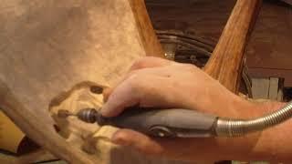 Timelapse Moose Antler Carving PART 1