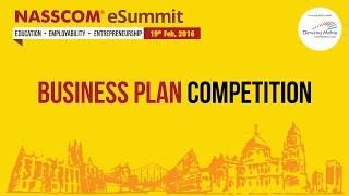 Business Plan Competition Part 1 - NASSCOM eSummit